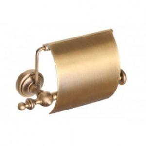 Держатель для туалетной бумаги с крышкой Alis Richmond (бронза/латунь)R 217001