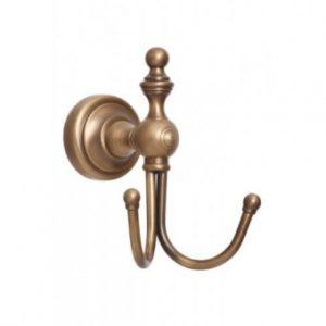 Крючок двойной для полотенец Alis Richmond (бронза/латунь)R 217008