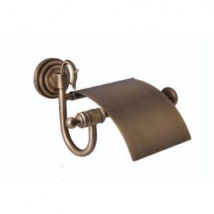 Держатель для туалетной бумаги Versace (бронза)