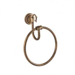 Кольцо для полотенец Versace (бронза)