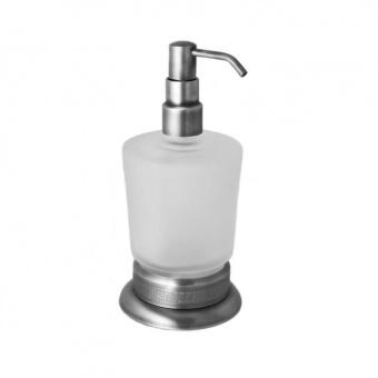 Дозатор для жидкого мыла настольный Versace (хром)