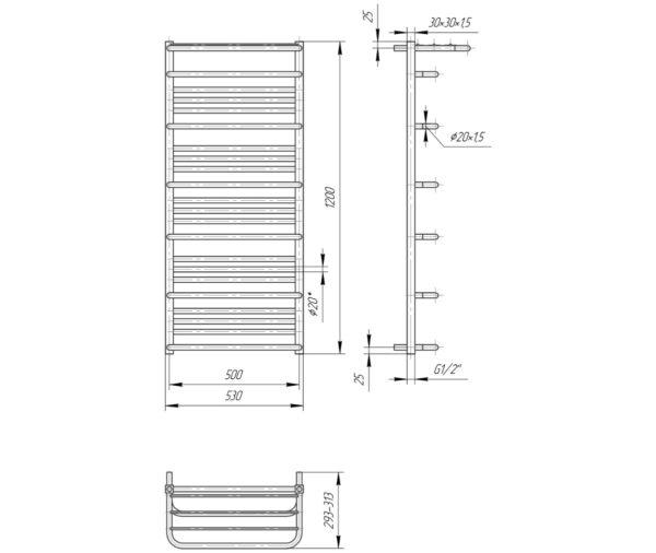 Премиум Люксор 1200х530