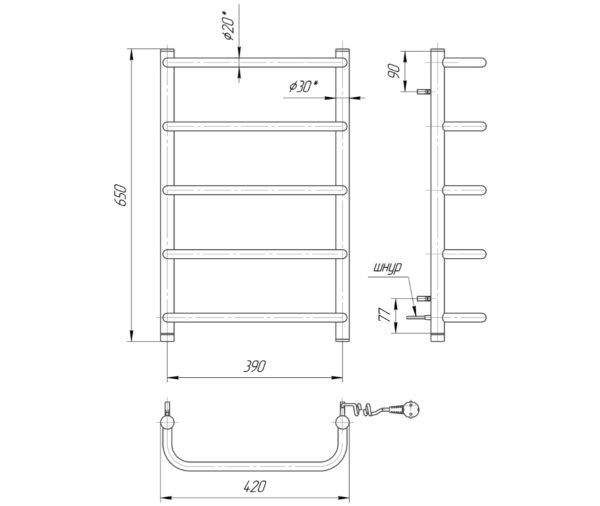 Стандарт HP-I 650x430